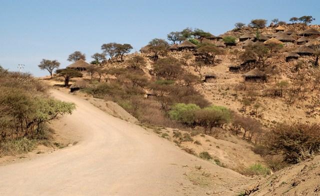 Leaving Amhara for the Afar plains