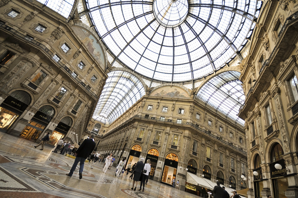 The Galleria in Milan