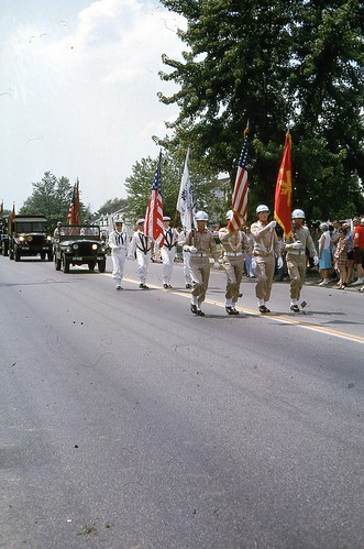 Maple Heights July 4th parade 1965 Vets
