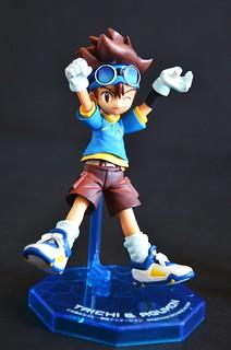 Digimon Adventure: Megahouse figure: Taichi & Agumon