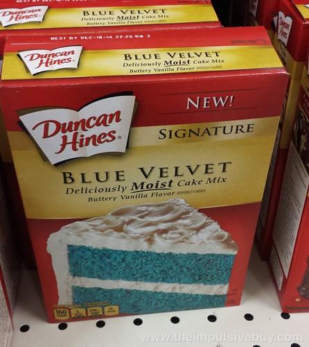 Duncan Hines Signature Blue Velvet Cake Mix