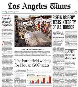 Franklin Avenue: The Incredibly Shrinking Los Angeles Times