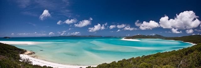 Whitehaven Beach in Whitsunday Islands, Australia
