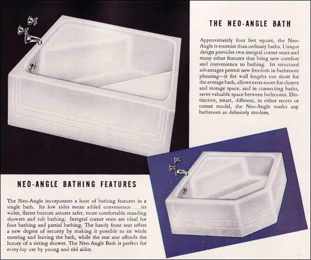 1947 American Standard Neo Angle Bathtub Flickr Photo