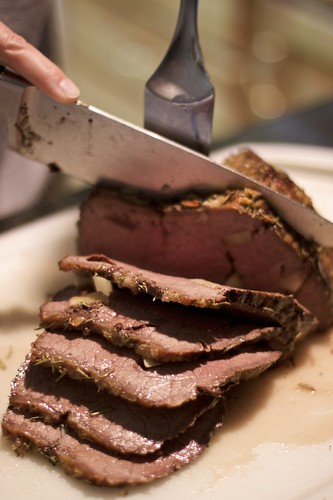 Gilded Fork Recipe Testing - Garlic Roast Beef