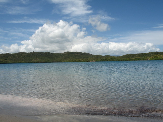 beaches in la trinite, best beaches in Martinique, baie du tresors, presqu'ile de la caravelle