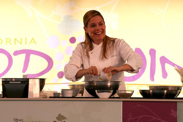 Cat Cora cooks