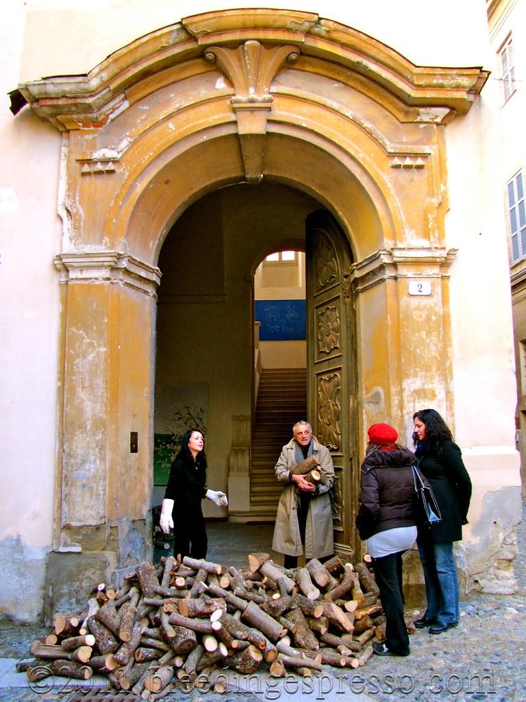 Palazzo of Eleonora Ricci Misheff and Alzek Misheff, Acqui Terme, Italy