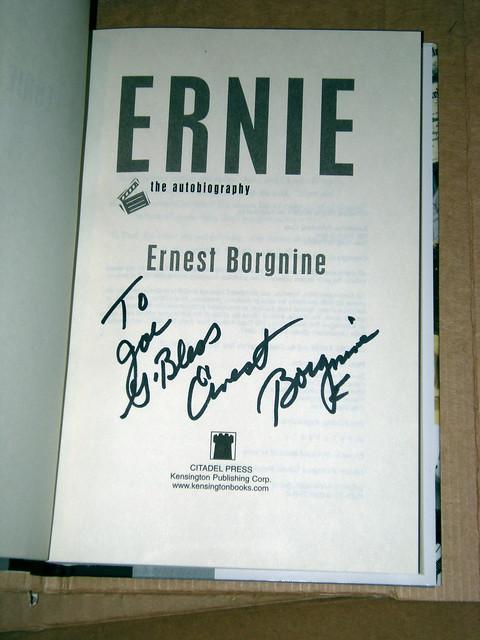 Ernest Borgnine's Autograph
