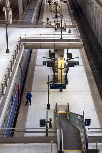 CDG Train Station
