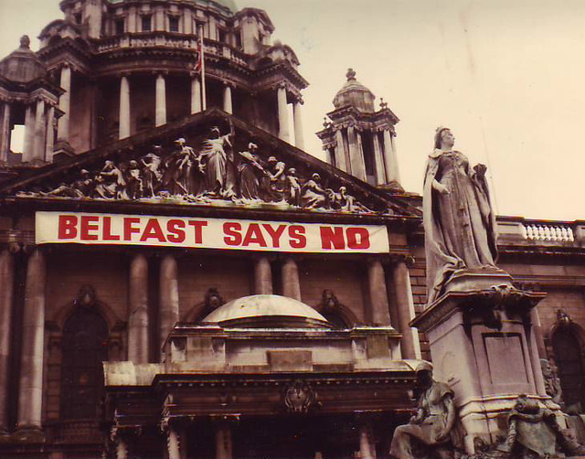 Belfast says no