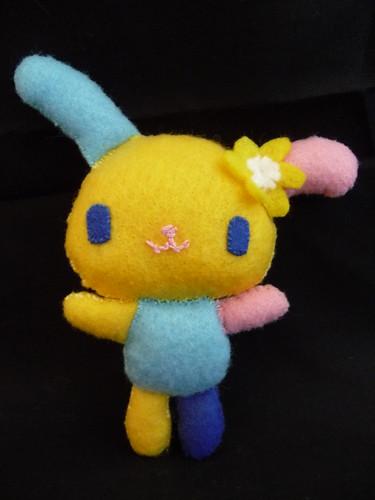 Homemade plush Sanrio Usahana bunny by EnglishGirlAbroad