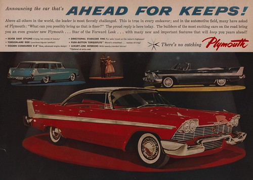 1958 Plymouth - Ahead For Keeps!