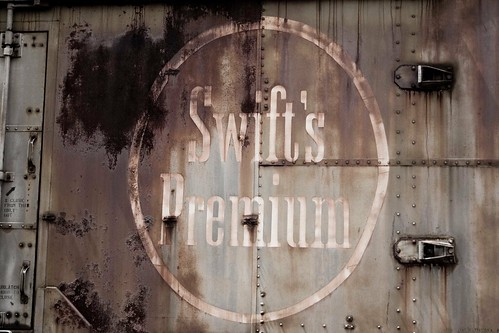 Swift Premium boxcar logo by William 74