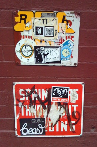Soho Graffiti by DRheins