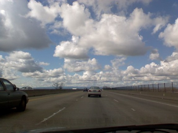 Over the Yolo Causeway