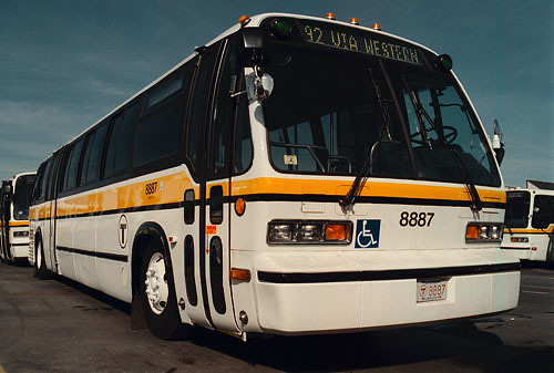 MBTA RTS Bus 8887 Flickr Photo Sharing