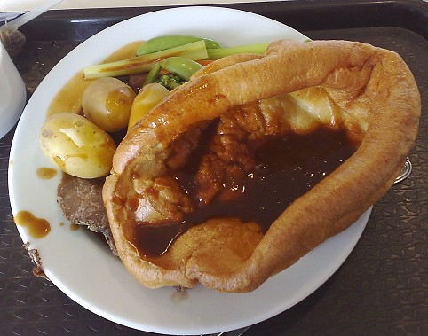 A roast dinner - boy have I missed these!
