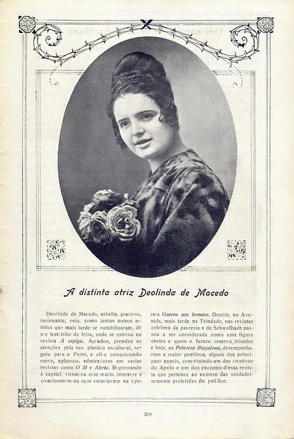 Ilustração Portugueza, No. 686, April 14 1919 - 22 by Gatochy