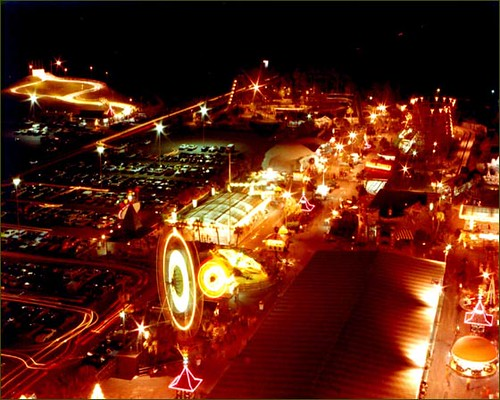 Miracle Strip Amusement Park at night, in its full glory ...