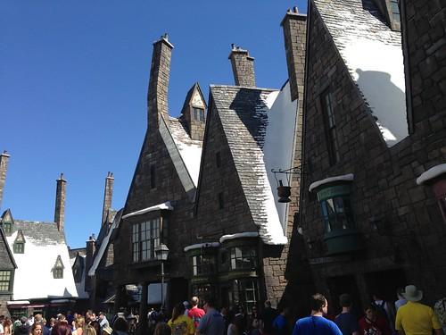 Fantasyland Harry Potter, Orlando. Florida, US