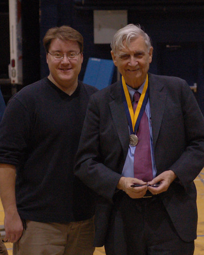 E.O. Wilson at MSU: Michael & Wilson