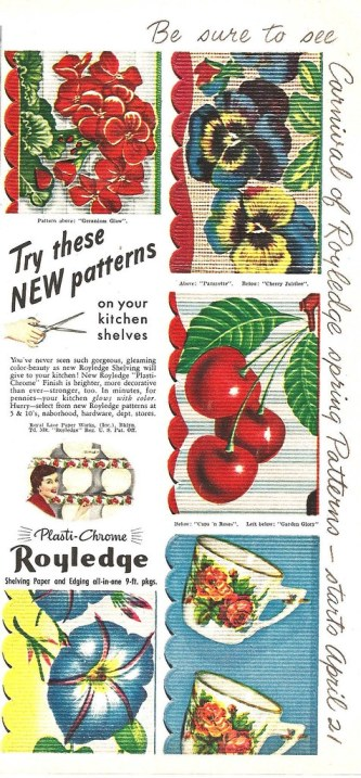 Royledge Shelf Paper