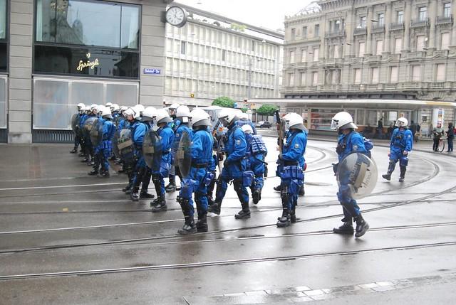 Paradeplatz No Go