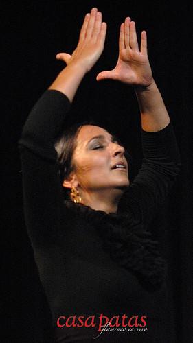 Almudena Serrano en Casa Patas. Foto: Martín Guerrero