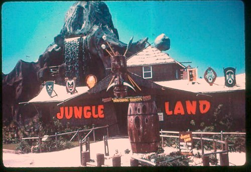 Jungleland attraction on Front Beach Rd.  Panama City Beach, Florida