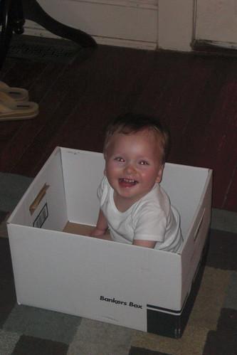 In a box 5