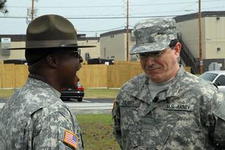 Drill sergeant discipline