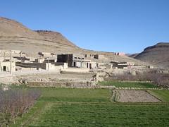 Aldeia de Agoudal, Montanhas do Atlas