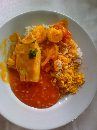 Fish and shrimp moqueca - Day66