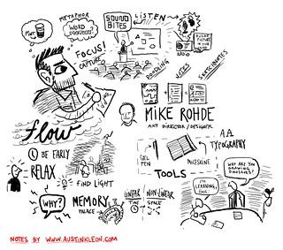 Mike Rohde, Vizthink Visual Note-taking 101 Webinar