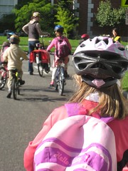 Bike Train to Bryant Elementary