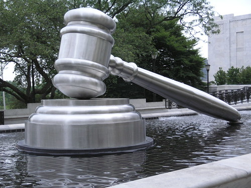 Gavel Sculpture at  Ohio Judicial Center by Andrew F. Scott (photo: afsart, flickr)