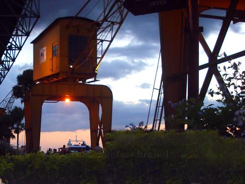 Pôr-do-Sol na Estação das Docas