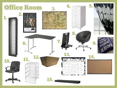 Office Room Mood Board