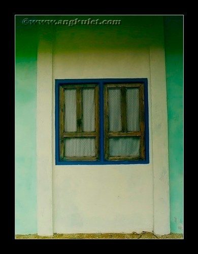 Nagarao Island Resort cottage window