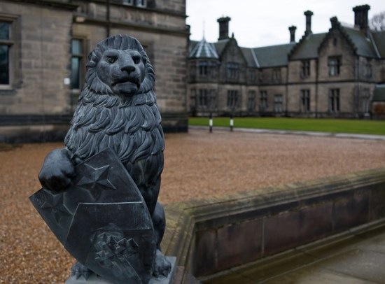 Fettes College sculpture
