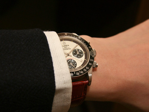 Dress wristshot - Alpha Paul Newman