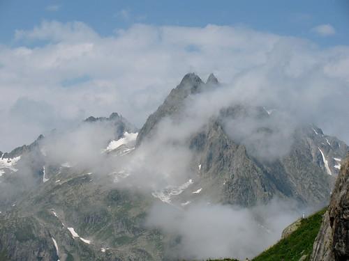 Berge im Sustengebiet , Kanton Bern , Schweiz por chrchr_75