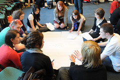 Discusssion at the DFID Youth Consultation