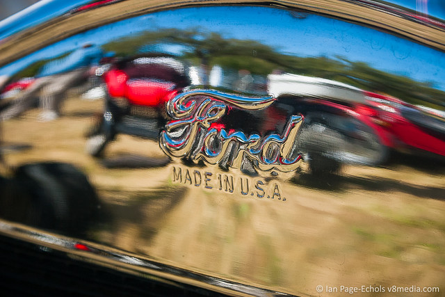 """""""Ford Made in U.S.A."""" Front Grille Stamp"""