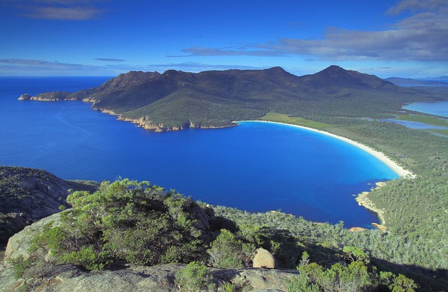 Tasmania Australia Wineglass Bay