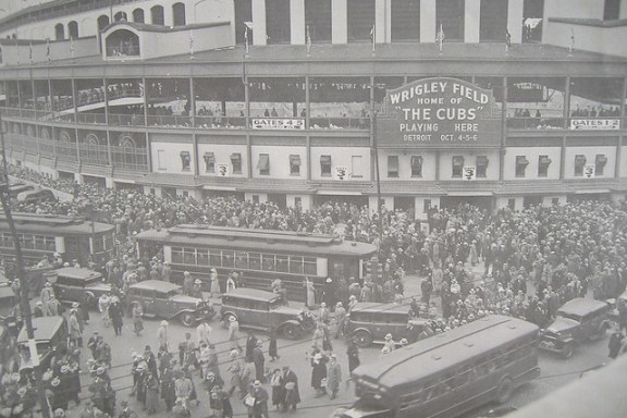 Wrigley Field 1935 World Series