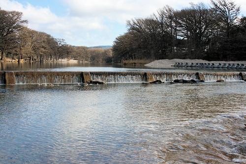Dam at Garner State Park