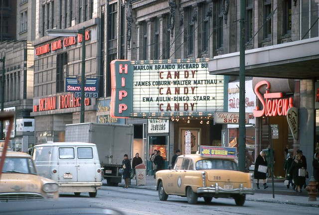 Hippodrome Theatre Cleveland Ohio Jan 1969