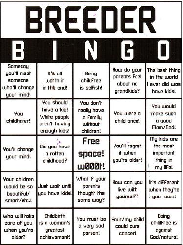 Breeder Bingo